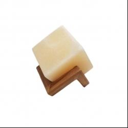 آباژور سنگ نمک مدل مکعب مربع کوچک طرح Sc01