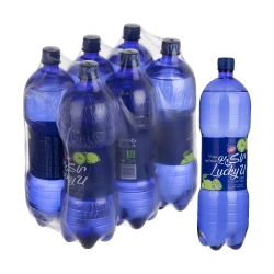 آب گاز دار لاکی یو کاله با طعم لیمو – 1500 میلی لیتر بسته 6 عددی