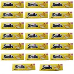 آدامس موزی اسمایل شیرین عسل بسته 20 عددی