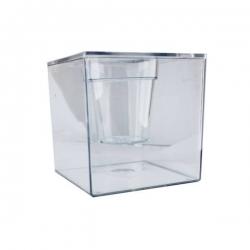 آکواریوم مدل گلدان شفاف 3 لیتری