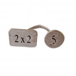 انگشتر مدل 2×2  5