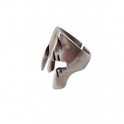 انگشتر مردانه طرح اسکلت کد a27m