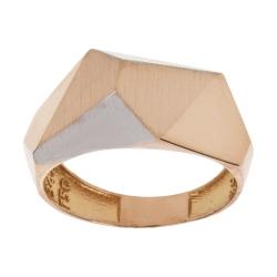 انگشتر طلا 18 عیار زنانه آلند کد BR28
