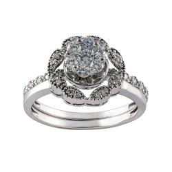 انگشتر طلا 18 عیار زنانه جواهری سون مدل 2884