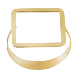 انگشتر طلا 18 عیار زنانه کانیار گالری مدل R29