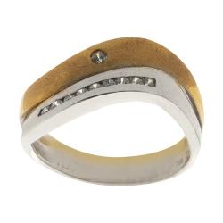 انگشتر طلا 18 عیار زنانه مایا ماهک مدل SR0072