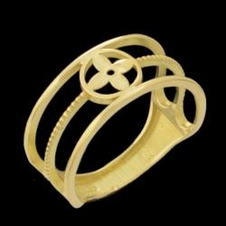 انگشتر طلا 18 عیار زنانه مدل 67138