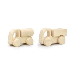 اسباب بازی چوبی مدل کامیون و تانکر کد 43111