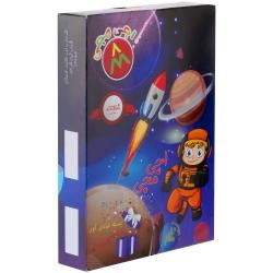 اسباب بازی شانسی اجی مجی جعبه ای  طرح آدم فضایی