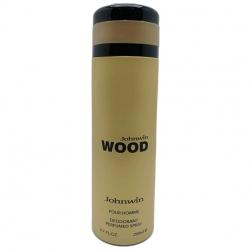 اسپری خوشبو کننده بدن مردانه جانوین مدل Wood حجم 200 میلی لیتر