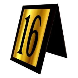 استند رومیزی آژنگ مدل اعداد طرح شماره میز کدof-16
