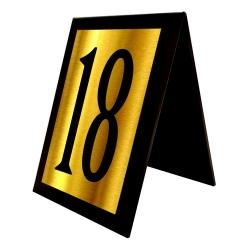 استند رومیزی آژنگ طرح شماره میز کدof-18