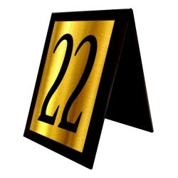 استند رومیزی آژنگ طرح شماره میز کدof-22