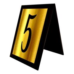 استند رومیزی آژنگ طرح شماره میز کدof-5