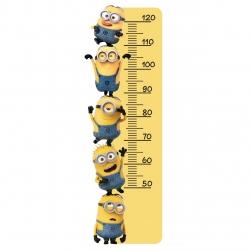 استیکر اندازه گیری قد سالسو مدل minion ruler