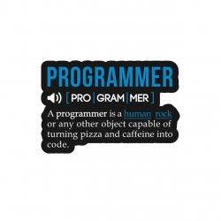استیکر لپ تاپ لولو طرح معنی برنامه نویس کد 272