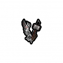 استیکر لپ تاپ لولو طرح سریال وایکینگ ها کد 377