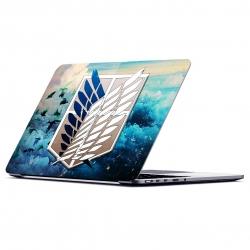 استیکر لپ تاپ ماسا دیزاین طرح attack on titan مدل MASAV0079 مناسب برای لپ تاپ 15.6 اینچ