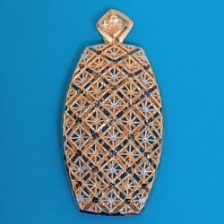 آویز گردنبند طلا 18 عیار زنانه  گالری یارطلا مدل AVA کد PLAVA07