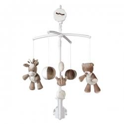 آویز تخت کودک ناتو مدل موزیکال خرس و الاغ