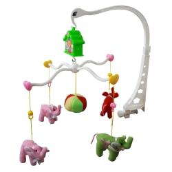 آویز تخت کودک طرح فیل کد 258