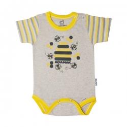 بادی آستین  کوتاه بچگانه آدمک طرح زنبور