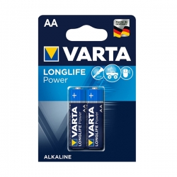 باتری قلمی وارتا مدل Longlife Power بسته 2 عددی
