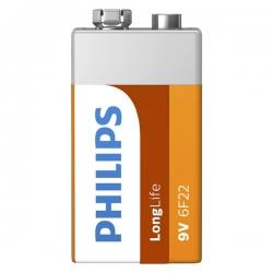 باتری کتابی فیلیپس مدل 6F22L1F/97