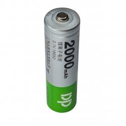باتری لیتیوم یون قابل شارژ دی پی کد 18650 ظرفیت 2000 میلی آمپرساعت