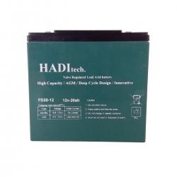 باتری موتور سیکلت هادیتک کد ۵۴۵۶