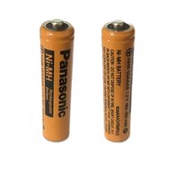 باتری نیم قلمی قابل شارژ تلفن بی سیم پاناسونیک مدل  (Ni-MH/HHR-55AAAB(HRMR03  بسته دو عددی