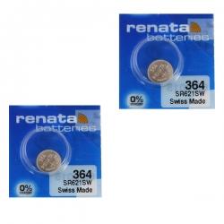 باتری ساعت رناتا مدل  SR621SW بسته 2 عددی
