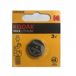 باتری سکه ای کداک مدل MAX LITHIUM CR 2032