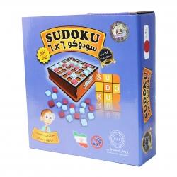 بازی فکری مدل سودوکو 6×6