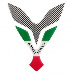 برچسب باک موتورسیکلت  مدل parch_italy