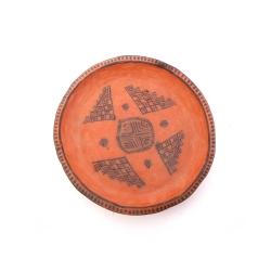 بشقاب سفالی آرانیک مدل کلپورگان 1000900019