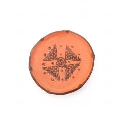بشقاب سفالی آرانیک مدل کلپورگان کد 1000900018