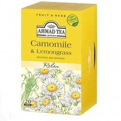 بسته دمنوش احمد مدل Camomile And Lemongrass