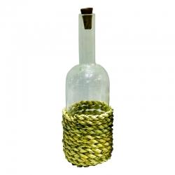 بطری مدل استوانه حصیردار کد 2