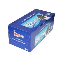 بیسکویت کاکائو با کرم نارگیل دربیس درنا بسته 10 عددی