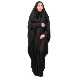 چادر عبایی نیکزاد مدل کن کن نگین دار کد 1316