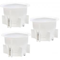 چاه بست توالت زمینی مدل YENI بسته 3 عددی