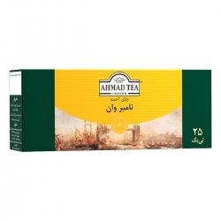 چای کیسه ای نامبر وان احمد بسته 25 عددی