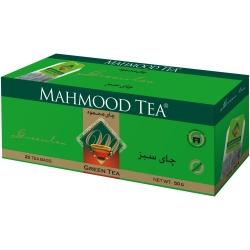 چای کیسه ای سبز محمود – 25 عددی