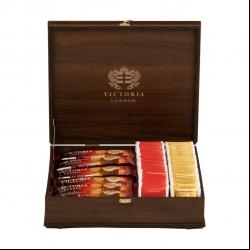 چای کیسه ای ویکتوریا بسته 100 عددی به همراه کافی میکس ویکتوریا بسته 24 عددی