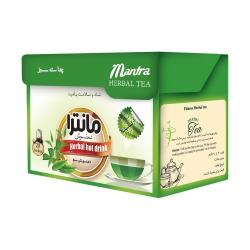 چای سبز کیسه ای مانترا بسته 20 عددی