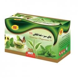 چای سبز نعناع و فلفلی 111- 48 گرم