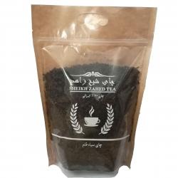 چای سیاه قلم چای  شیخ زاهد مقدار 400 گرم
