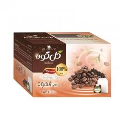 چای سیاه کیسه ای با طعم قهوه گلکوه بسته 15 عددی