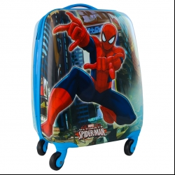 چمدان کودک طرح مرد عنکبوتی کد 2